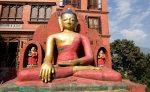 Buda em Swoyambhu, Kathmandu