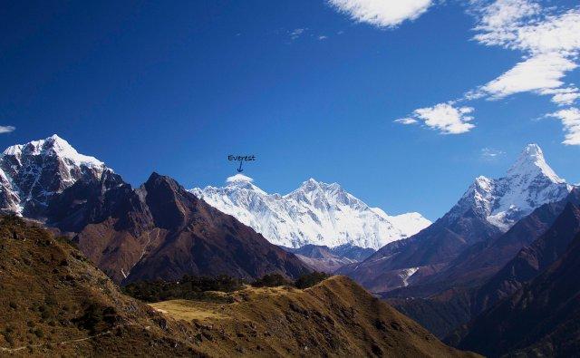 De Lukla rumo ao Everest