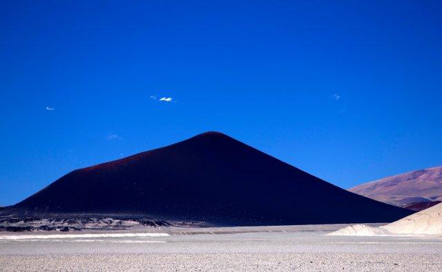 vulcão basáltico, Puna Argentina