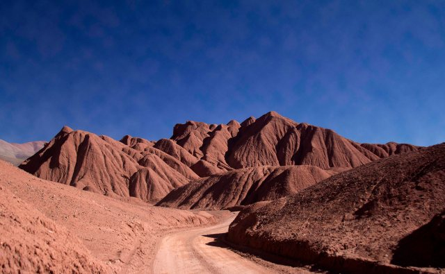 Los Siete Curvas, Puna Argentina