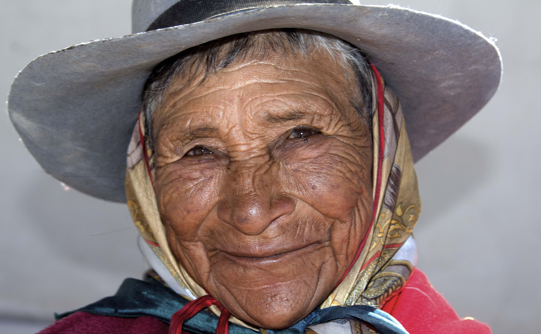 mulher quéchua, habitante da Puna Argentina