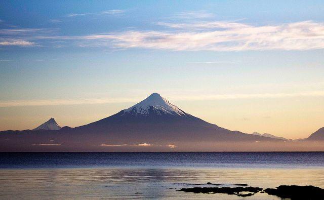 Vulcão Osorno visto do Lago Llanquihue