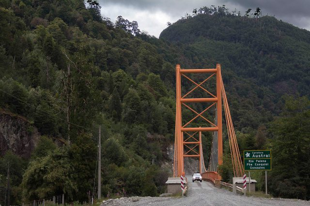 Trecho inicial da Carretera Austral