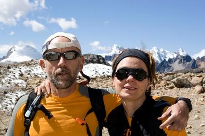 Eu e Rita em Huayhuash, 2007